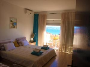 Apartment in Opatija with sea view, balcony, air conditioning, WiFi (4872-1)