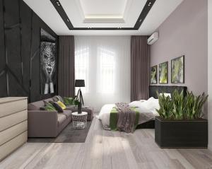 VIP 2-bedroom Studio on Luteranska 3