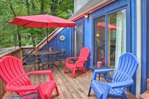 Hideout Home 10 Mins to Ski Area in Lake Ariel - Hotel
