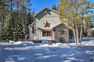 Riverfront Tahoe House with Deck Near Lake and Skiing!