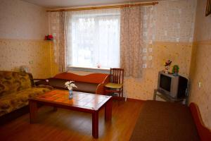 Chernobyl type rooms in a block flat house