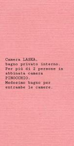 Camera Matrimoniale/Doppia con Letti Singoli con Bagno Privato