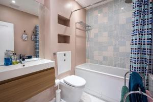 Stylish garden apartment Nr High Street Kensington, Ferienwohnungen  London - big - 47