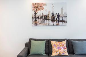 Stylish garden apartment Nr High Street Kensington, Ferienwohnungen  London - big - 42