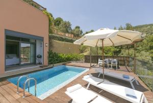 obrázek - Superior Villa Cassiope with 3br, Private Pool And Stunning Sea Views