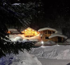 Отель Снежинка, Домбай