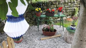 Cozy Studio with access to gardenterrace; peaceful area 22 km from the town