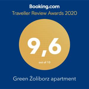 Green Żoliborz apartment