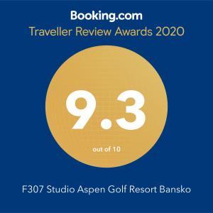 F307 Studio Aspen Golf Resort Bansko