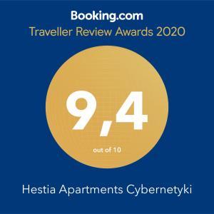 Hestia Apartments Cybernetyki