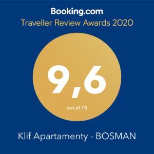 Klif Apartamenty BOSMAN