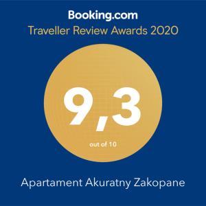 Apartament Akuratny Zakopane