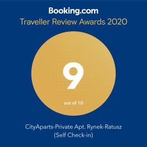 CityApartsPrivate Apt RynekRatusz Self Checkin