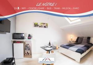 . SweetHome Dijon - Le Nôtre