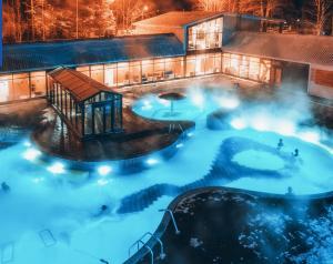 База отдыха Открытый термальный бассейн