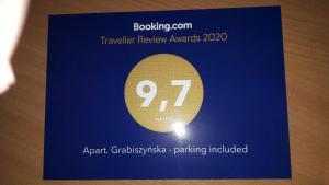 Apart Grabiszyńska parking included