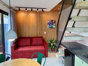 Loft 126 - design conforto e ótima localização