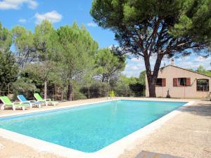 Ferienhaus mit Pool Carces 190S
