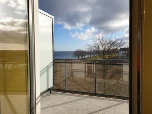 Apartament tuz przy plazy z widokiem na morze balkonem i hamakami