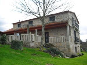 A Hotel Com Casa Rural Os Carballos Country House Outeiro Spain