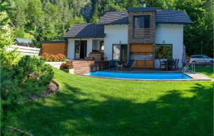 Stunning home in Gozd Martuljek w/ Outdoor swimming pool, Jacuzzi and 3 Bedrooms