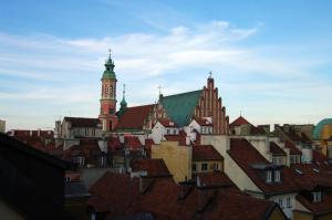 Heart of Old Town Szeroki Dunaj Street