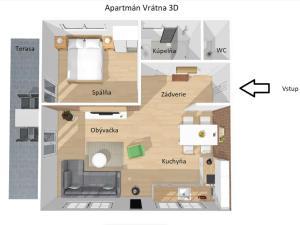 Apartmán Vrátna - Hotel - Terchová