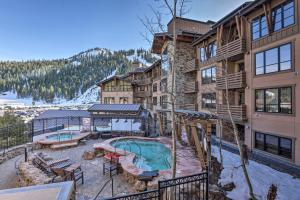 Shred Squaw Valley from this Ski-In and Out Condo