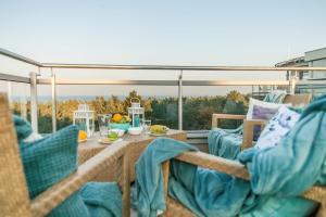Sunset Apartament z prywatnym tarasem na dachu i widokiem na morze