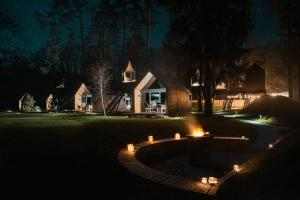 Luxury glamping Chocolate village