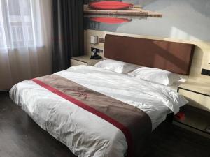 Thank Inn Chain Hotel hebei langfang bazhou city jianchapu town, Отели  Langfang - big - 3