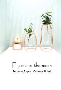 Incheon Airport Capsule Hotel Fly me to the moon