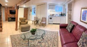 English Basement Apartment with full kitchen