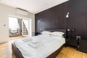 Fabulous 2 bed 2 bath with air con + garden, Apartments  London - big - 7