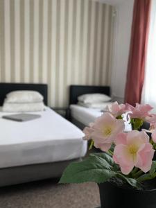 Pastel Guest Rooms