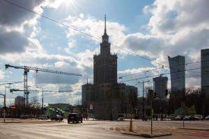 Deluxe Studio Warsaw City Center by Renters