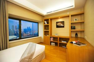 Somerset International Building Tianjin, Apartmánové hotely  Tiencin - big - 16