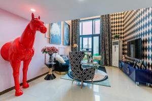 Rongyi Apartment, Apartmány  Kanton - big - 118