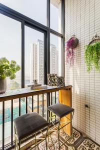 Rongyi Apartment, Апартаменты/квартиры  Гуанчжоу - big - 156