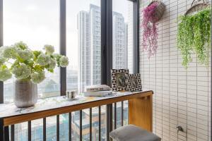 Rongyi Apartment, Апартаменты/квартиры  Гуанчжоу - big - 174