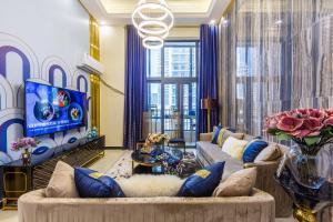 Rongyi Apartment, Apartmány  Kanton - big - 14