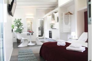 Bright and attractive studio in Trastevere - abcRoma.com
