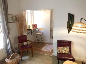 Appartement duplex sur cour intérieure