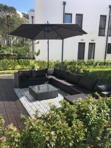 Apartament Baltica z ogródkiem w ustronnym miejscu tuż przy plaży