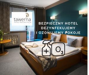 Hotel Restauracja Tawerna Gliwice ozonujemy pokoje