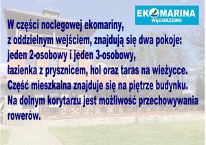 Ekomarina Pokój noclegowy 1