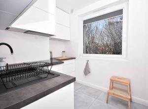 White Scandic Apartment