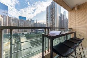 Guangzhou Tianhe·Liede Metro Station, Appartamenti  Canton - big - 30
