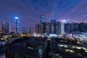 Guangzhou Tianhe·Liede Metro Station, Appartamenti  Canton - big - 35