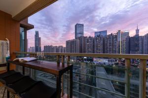 Guangzhou Tianhe·Liede Metro Station, Appartamenti  Canton - big - 36